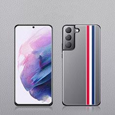 Funda Lujo Cuero Carcasa S02 para Samsung Galaxy S21 Plus 5G Multicolor