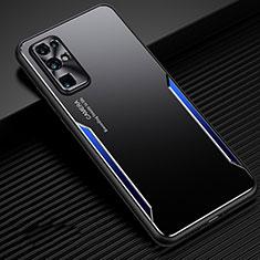 Funda Lujo Marco de Aluminio Carcasa M01 para Huawei Honor 30 Azul