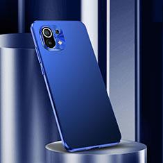 Funda Lujo Marco de Aluminio Carcasa M01 para Xiaomi Mi 11 5G Azul