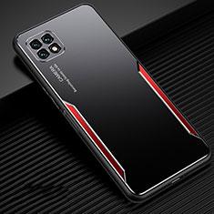 Funda Lujo Marco de Aluminio Carcasa para Huawei Enjoy 20 5G Rojo