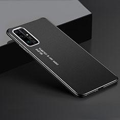 Funda Lujo Marco de Aluminio Carcasa para Huawei Honor 30 Negro