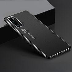 Funda Lujo Marco de Aluminio Carcasa para Huawei Honor 30 Pro Negro