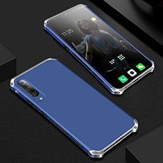 Funda Lujo Marco de Aluminio Carcasa para Xiaomi Mi 9 Pro Azul