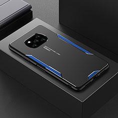 Funda Lujo Marco de Aluminio Carcasa para Xiaomi Poco X3 NFC Azul