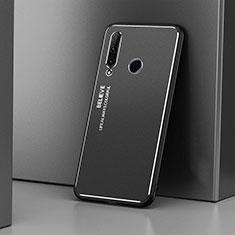 Funda Lujo Marco de Aluminio Carcasa T01 para Huawei Honor 20 Lite Negro