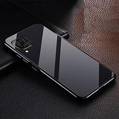 Funda Lujo Marco de Aluminio Carcasa T02 para Huawei P40 Lite Negro
