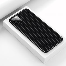 Funda Silicona Carcasa Goma Line C01 para Apple iPhone 11 Pro Max Negro