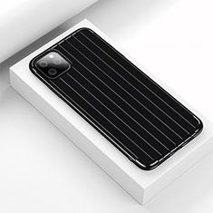 Funda Silicona Carcasa Goma Line C01 para Apple iPhone 11 Pro Negro