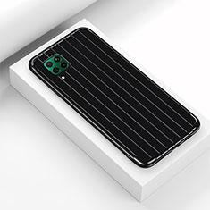 Funda Silicona Carcasa Goma Line C01 para Huawei P40 Lite Negro