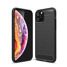 Funda Silicona Carcasa Goma Line C02 para Apple iPhone 11 Pro Negro