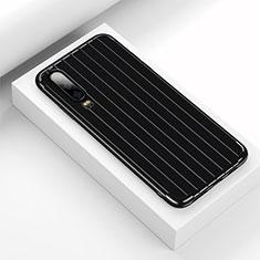 Funda Silicona Carcasa Goma Line C02 para Huawei P30 Negro