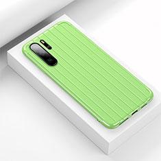 Funda Silicona Carcasa Goma Line C02 para Huawei P30 Pro Verde