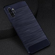 Funda Silicona Carcasa Goma Line C02 para Samsung Galaxy Note 10 Plus 5G Azul