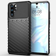 Funda Silicona Carcasa Goma Line C03 para Huawei P30 Pro Negro