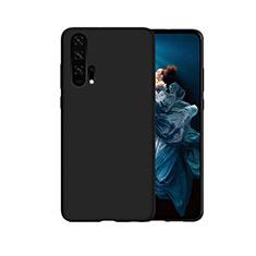 Funda Silicona Carcasa Goma Line C07 para Huawei Honor 20 Pro Negro
