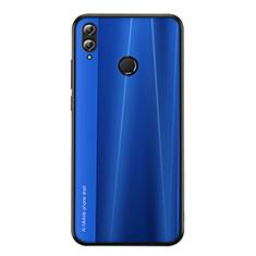 Funda Silicona Carcasa Goma Line para Huawei Honor 8X Azul