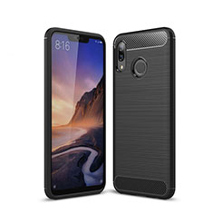 Funda Silicona Carcasa Goma Line para Huawei P20 Lite Negro
