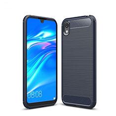 Funda Silicona Carcasa Goma Line para Huawei Y5 (2019) Azul