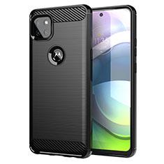 Funda Silicona Carcasa Goma Line para Motorola Moto G 5G Negro