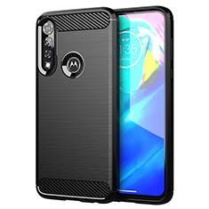 Funda Silicona Carcasa Goma Line para Motorola Moto G Power Negro