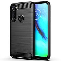 Funda Silicona Carcasa Goma Line para Motorola Moto G Pro Negro