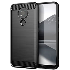 Funda Silicona Carcasa Goma Line para Nokia 3.4 Negro