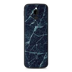 Funda Silicona Carcasa Goma Line para Nokia 8110 (2018) Azul
