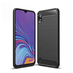 Funda Silicona Carcasa Goma Line para Samsung Galaxy A10 Negro