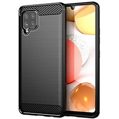Funda Silicona Carcasa Goma Line para Samsung Galaxy A42 5G Negro