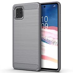 Funda Silicona Carcasa Goma Line para Samsung Galaxy A81 Gris