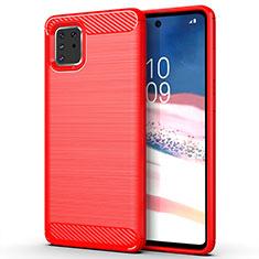 Funda Silicona Carcasa Goma Line para Samsung Galaxy A81 Rojo