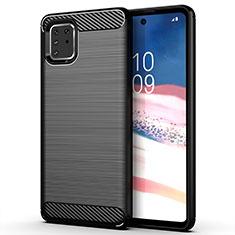 Funda Silicona Carcasa Goma Line para Samsung Galaxy M60s Negro