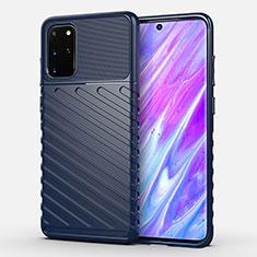 Funda Silicona Carcasa Goma Line para Samsung Galaxy S20 Plus 5G Azul