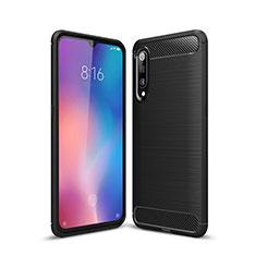 Funda Silicona Carcasa Goma Line para Xiaomi Mi 9 Pro Negro