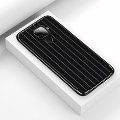 Funda Silicona Carcasa Goma Line S03 para Huawei Mate 30 Lite Negro