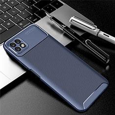Funda Silicona Carcasa Goma Twill para Huawei Enjoy 20 5G Azul