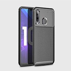 Funda Silicona Carcasa Goma Twill para Huawei Honor 20 Lite Negro