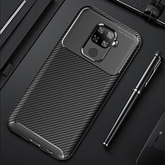 Funda Silicona Carcasa Goma Twill para Huawei Mate 30 Lite Negro