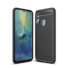 Funda Silicona Carcasa Goma Twill para Huawei P Smart (2019) Negro