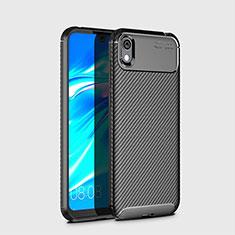 Funda Silicona Carcasa Goma Twill para Huawei Y5 (2019) Negro