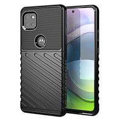 Funda Silicona Carcasa Goma Twill para Motorola Moto G 5G Negro