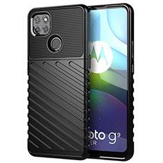 Funda Silicona Carcasa Goma Twill para Motorola Moto G9 Power Negro