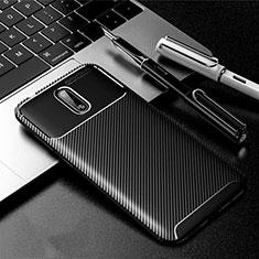 Funda Silicona Carcasa Goma Twill para Nokia 2.3 Negro