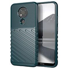 Funda Silicona Carcasa Goma Twill para Nokia 3.4 Verde
