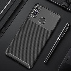 Funda Silicona Carcasa Goma Twill para Samsung Galaxy A20s Negro