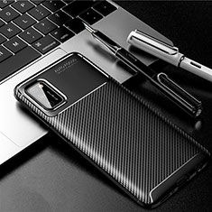 Funda Silicona Carcasa Goma Twill para Samsung Galaxy A41 Negro