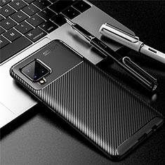 Funda Silicona Carcasa Goma Twill para Samsung Galaxy A42 5G Negro