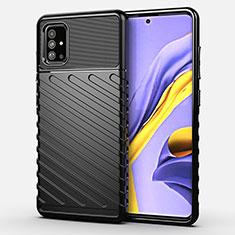 Funda Silicona Carcasa Goma Twill para Samsung Galaxy A51 4G Negro
