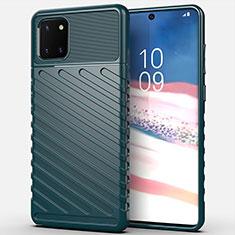 Funda Silicona Carcasa Goma Twill para Samsung Galaxy A81 Verde