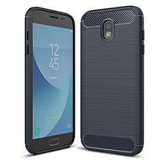 Funda Silicona Carcasa Goma Twill para Samsung Galaxy J5 (2017) Duos J530F Azul